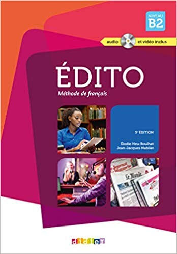 Edito B2 (Textbook and Exercise) - Click to enlarge picture.