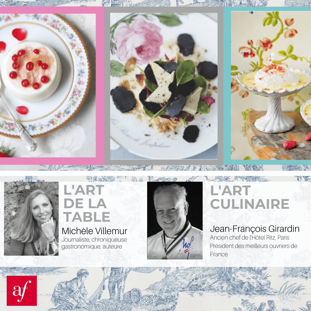 L'art de la table, l'art culinaire