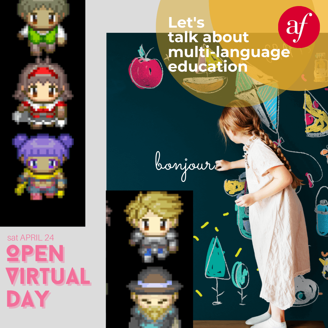 Open Virtual Day - About Multilanguage education